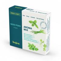 Sėklų rinkinys Tregren Fresh&Tasty Aroma Mix, 4 seed pods: basil, chives, coriander, leaf pepper, SEEDPOD87 Išmanūs vazonai, daigyklės
