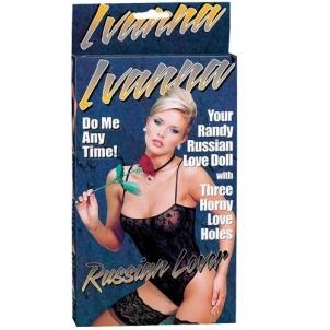 Sekso lėlė Ivana - Rusiška meilė Piepūšamā sekss lelle