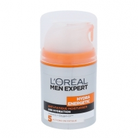 Serumas L´Oreal Paris Men Expert Hydra Energetic Lotion Cosmetic 50ml Kaukės ir serumai veidui