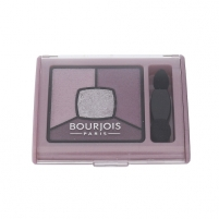 Šešėliai akims BOURJOIS Paris Smoky Stories Quad Eyeshadow Palette Cosmetic 3,2g 07 In Mauve Again Šešėliai akims