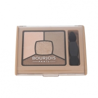 Šešėliai akims BOURJOIS Paris Smoky Stories Quad Eyeshadow Palette Cosmetic 3,2g Shade 13 Taupissime Šešėliai akims