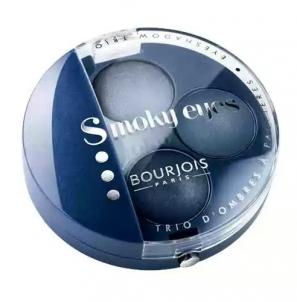 Šešėliai akims BOURJOIS Smoky Eyes Trio Eyeshadow 11 Blue Jeans Šešėliai akims