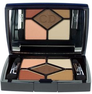 Šešėliai akims Christian Dior 5 Couleurs Cosmetic 6g (754 Rosy Tan) Šešėliai akims