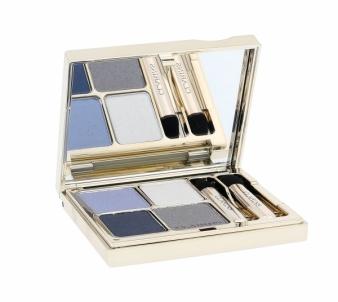 Šešėliai akims Clarins Eye Quartet Mineral Palette Cosmetic 5,8g 04 Indigo Šešėliai akims