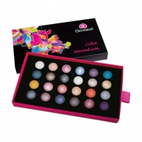 Šešėliai akims Dermacol Palette Color Sensation Cosmetic 12g