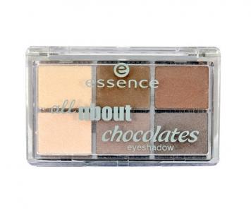 Šešėliai akims Essence All About Chocolates Eyeshadow Cosmetic 8,5g 05 Chocolates Šešėliai akims