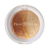Šešėliai akims Frais Monde Thermal Mineralize Baked Trio Eyeshadow Cosmetic 2,2g Nr.8 Šešėliai akims