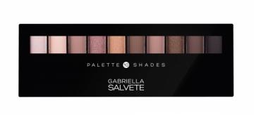 Šešėliai akims Gabriella Salvete Palette 10 Shades Cosmetic 12g Shadow for eyes