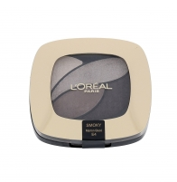 Šešėliai akims L´Oreal Paris Color Riche Quad Eye Shadows Cosmetic 2,5ml E4 Marron Glacé Šešėliai akims