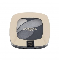 Šešėliai akims L´Oreal Paris Color Riche Quad Eye Shadows Cosmetic 2,5ml E5 Velours Noir Šešėliai akims