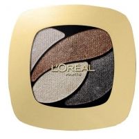 Šešėliai akims L´Oreal Paris Color Riche Quad Eye Shadows Cosmetic 2,5ml E6 Eau de Rose Šešėliai akims