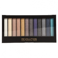 Šešėliai akims Makeup Revolution Eye Shadow Palette Day To Night Šešėliai akims