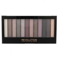 Šešėliai akims Makeup Revolution London Redemption Palette Romantic Smoked Cosmetic 14g Šešėliai akims