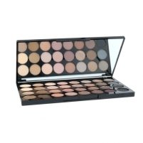 Šešėliai akims Makeup Revolution London Ultra 32 Shade Beyond Flawless Palette Cosmetic 16g Тени для глаз