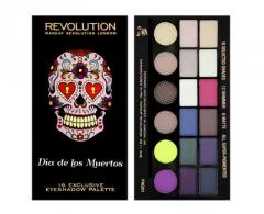 Šešėliai akims Makeup Revolution Salvation Palette Dia De Los Muertos Šešėliai akims