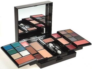 Šešėliai akims Makeup Trading Schmink Set Cube Cosmetic 30,8g Šešėliai akims