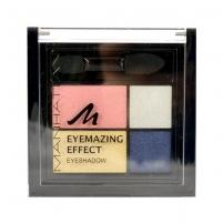 Šešėliai akims Manhattan Eyemazing Effect Eyeshadow Palette Cosmetic 15g 109A Smokey Smile Šešėliai akims
