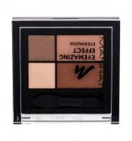 Šešėliai akims Manhattan Eyemazing Effect Eyeshadow Palette Cosmetic 15g 95R Brownie Break Šešėliai akims
