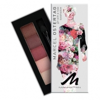 Manhattan Eyeshadow Palette By Marcel Ostertag 5g 2 Girl With a Lily Acu ēnas