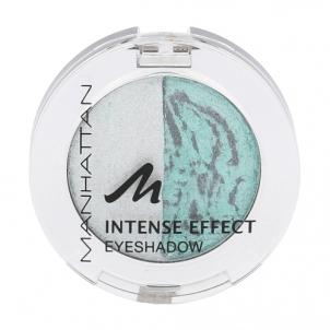 Šešėliai akims Manhattan Intense Effect Eyeshadow Cosmetic 4g Shade 11D/87T Party Queen Šešėliai akims
