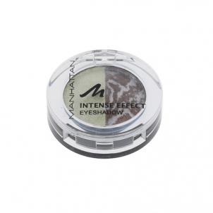 Šešėliai akims Manhattan Intense Effect Eyeshadow Cosmetic 4g Shade 81H/99T Bubble Tea Acu ēnas