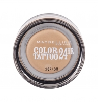 Šešėliai akims Maybelline Color Tattoo 24H Gel-Cream Eyeshadow Cosmetic 4g 05 Eternal Gold Šešėliai akims