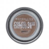Šešėliai akims Maybelline Color Tattoo 24H Gel-Cream Eyeshadow Cosmetic 4g 35 On And On Bronze Šešėliai akims