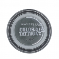 Šešėliai akims Maybelline Color Tattoo 24H Gel-Cream Eyeshadow Cosmetic 4g 55 Immortal Charcoal Šešėliai akims