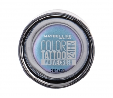 Šešėliai akims Maybelline Color Tattoo 24H Gel-Cream Eyeshadow Cosmetic 4g 87 Mauve Crush Šešėliai akims