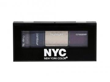 Šešėliai akims NYC New York Color Metro Quartet Eye Shadow Cosmetic 3,4g (Manhattan Island) Šešėliai akims