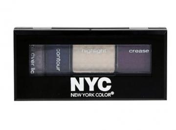 Šešėliai akims NYC New York Color Metro Quartet Eye Shadow Cosmetic 3,4g (Riverside Park) Šešėliai akims