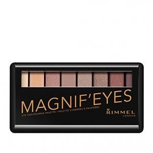 Šešėliai akims Rimmel Paleta očních stínů MagnifEyes (Eyeshadow Palette) Šešėliai akims