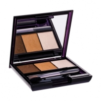 Šešėliai akims Shiseido Luminizing Satin Eye Color Trio Cosmetic 3g (Shade BR307) Šešėliai akims