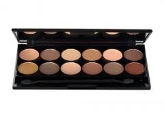 Šešėliai akims Sleek MakeUP I-Divine Eyeshadow Palette Cosmetic 13,2g Nr. 429 All night long Šešėliai akims