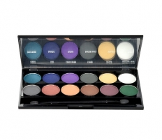 Šešėliai akims Sleek MakeUP I-Divine Eyeshadow Palette Cosmetic 13,2g Nr. 731 Ultra Mattes V2 Darks Šešėliai akims