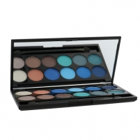 Šešėliai akims Sleek MakeUP I-Divine Eyeshadow Palette Cosmetic 13,2g Shade 085 Calm Before The Storm Šešėliai akims