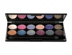 Šešėliai akims Sleek MakeUP I-Divine Eyeshadow Palette Cosmetic 13,2g Shade 098 Enchanted Forest Šešėliai akims
