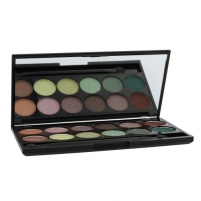 Šešėliai akims Sleek MakeUP I-Divine Eyeshadow Palette Cosmetic 13,2g Shade 447 Garden Of Eden Šešėliai akims
