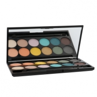 Šešėliai akims Sleek MakeUP I-Divine Eyeshadow Palette Cosmetic 13,2g Shade 450 Del Mar Vol II Šešėliai akims