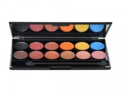 Šešėliai akims Sleek MakeUP I-Divine Eyeshadow Palette Cosmetic 13,2g Shade 568 Sunset Šešėliai akims