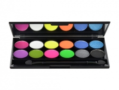 Šešėliai akims Sleek MakeUP I-Divine Eyeshadow Palette Cosmetic 13,2g Shade 570 Acid Šešėliai akims