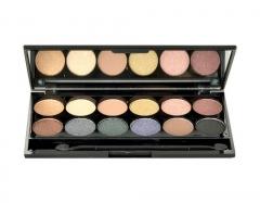 Šešėliai akims Sleek MakeUP I-Divine Eyeshadow Palette Cosmetic 13,2g Shade 578 Storm Šešėliai akims