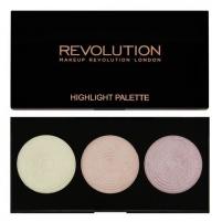 Šešėliai Revolution (Highlighter Palette - Highlight) 15 g Šešėliai akims