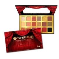 Šešėliai RUDE® Cosmetics Paletka 18 očních stínů Too Much Drama (18 Eyeshadow Palette) 18 g Šešėliai akims