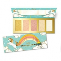 Šešėliai RUDE® Cosmetics Paletka 5 rozjasňovačů Unicorn Fantasies (Highlight Palette) 21 g Šešėliai akims