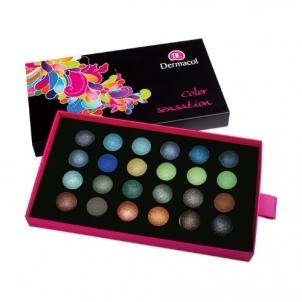 Šešėlių paletė Dermacol Palette Color Sensation Cosmetic 12g Shade II