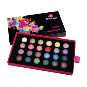 Šešėlių paletė Dermacol Palette Color Sensation Cosmetic 12g Shade III