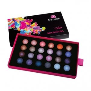 Šešėlių paletė Dermacol Palette Color Sensation Cosmetic 12g Shade V