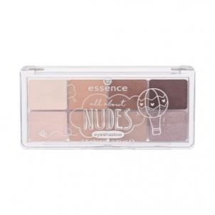 Šešėlių paletė Essence All About Nudes Eyeshadow Cosmetic 9,5g Shade 02 Nudes Šešėliai akims