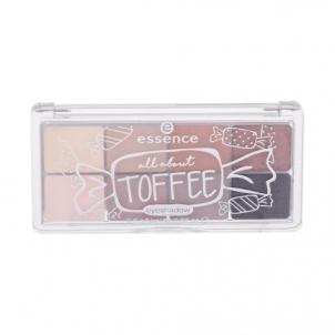 Šešėlių paletė Essence All About Toffee Eyeshadow Cosmetic 9,5g Shade 06 Toffee Šešėliai akims